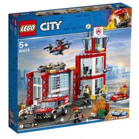 LEGO 60215 CITY FIRE CASERMA DEI POMPIERI