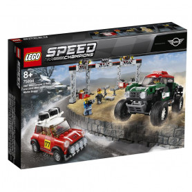 LEGO 75894 SPEED CHAMPIONS 1967 MINI COOPER S RALLY E 2018 MINI JOHN COOPER WORKS BUGGY