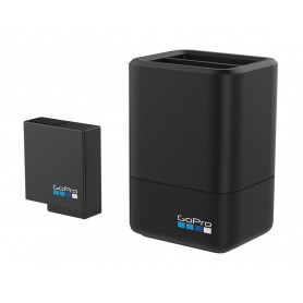 GOPRO AADBD DUAL BATTERY CHARGER   BATTERY HERO5 BLACK