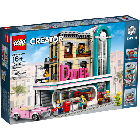 LEGO 10260 CREATOR EXPERT DOWNTOWN DINER