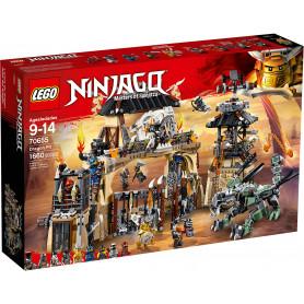LEGO 70655 NINJAGO LA FOSSA DEL DRAGONE