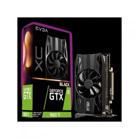 EVGA 06G-P4-1261-KR GF GTX 1660TI 6GB DDR6 XC BLACK GAMING SC. VIDEO