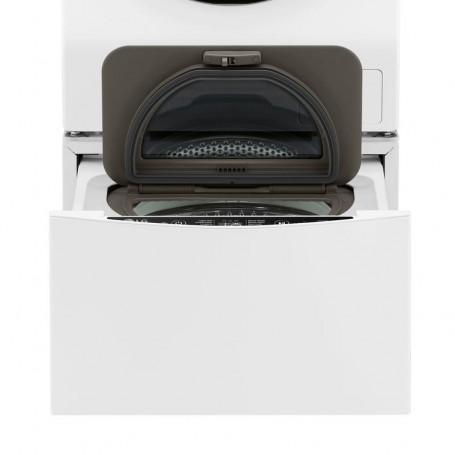 Hotpoint AQ114D 69D IT Libera installazione Caricamento frontale 11kg 1600RPM A Nero, Argento, Bianco lavatrice