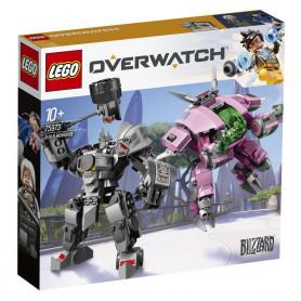 LEGO 75973 OVERWATCH D. VA E REINHARDT