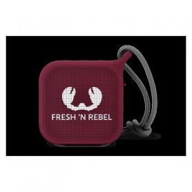 FRESH N REBEL 1RB0500RU ROCKBOX PEBBLE BLUETOOTH SPEAKER RUBY