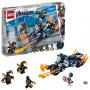 LEGO 76123 MARVEL SUPER HEROES CAPTAIN AMERICA: ATTACCO DEGLI OUTRIDER