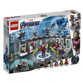 LEGO 76125 MARVEL SUPER HEROES SALA DELLE ARMATURE DI IRON MAN