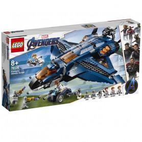 LEGO 76126 MARVEL SUPER HEROES ULTIMATE QUINJET DEGLI AVENGERS