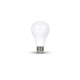 V-TAC 4453 LED Bulb - 15W A65 E27 Thermoplastic Luce Calda