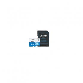LEXAR MICROSDHC32GBBCL10  300X   ADAPTER 932826