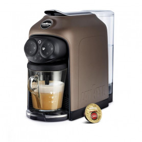 LAVAZZA DESEA BROWN WALNUT MACCHINA CAPSULE