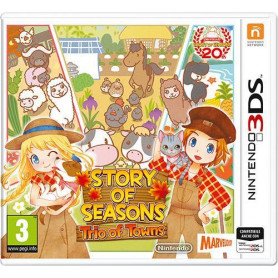 NINTENDO 3DS STORY OF SEASONS-TRIO OF TOWNS