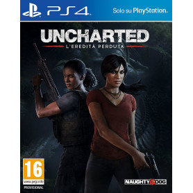 SONY UNCHARTED L  EREDITA   PERDUTA PS4