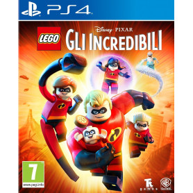 WARNER BROS LEGO GLI INCREDIBILI PS4