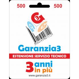 Garanzia3 Massimale 500 GRPD3500
