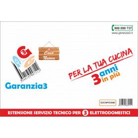 Garanzia3 Casa Nuova 3 Elettrodomestici  G3CNPD3500 Massimale 1000