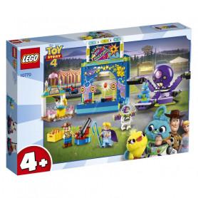 LEGO JUNIORS 10770 BUZZ E WOODY E LA MANIA DEL CARNEVALE