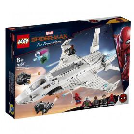 LEGO MARVEL SUPER HEROES 76130 IL JET STARK E L ATTACCO DEL DRONE