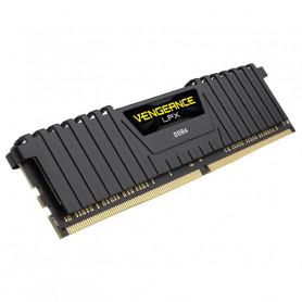 CORSAIR CMK16GX4M1D3000C16 VENGEANCE LPX BLACK DIMM 16GB DDR4 3000MHZ C16 MEMORIA