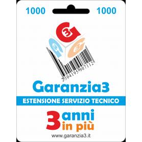 Garanzia3 Massimale 1000  GRPD31000