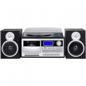 TREVI TT 1070 E HIFI VINILE / CD / CASSETTA / RADIO CON ENCODING