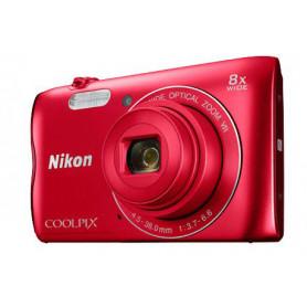 NIKON COOLPIX A300 RED FOTOCAMERA DIGITALE