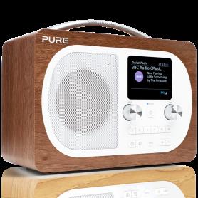 PURE EVOKE H4 WALNUT RADIO DAB   VL 62971