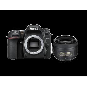 NIKON D7500 + AF-S DX 35MM F1,8 REFLEX KIT FOTOCAMERA + OBIETTIVO