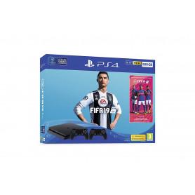 SONY PS4 500GB F   FIFA19   DS4