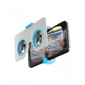 CELLULAR 3DVISORZIONOB VISORE VR POCKET SMARTPH FINO A 6   BLU
