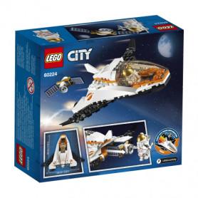 LEGO CITY SPACE PORT 60224 MISSIONE DI RIPARAZIONE SATELLITARE