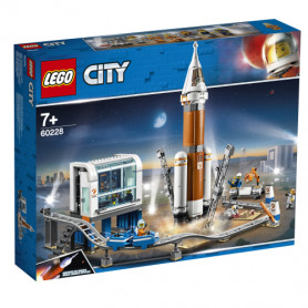 LEGO CITY SPACE PORT 60228 RAZZO SPAZIALE E CENTRO DI CONTROLLO