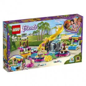 LEGO FRIENDS 41374 LA FESTA IN PISCINA DI ANDREA