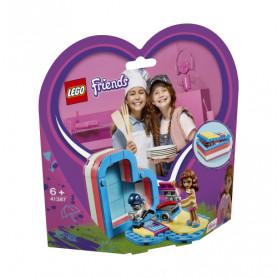 LEGO FRIENDS 41387 LA SCATOLA DEL CUORE DELL ESTATE DI OLIVIA