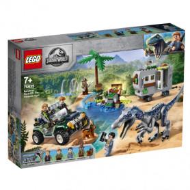 LEGO JURASSIC WORLD 75935 FACCIA A FACCIA CON IL BARYONYX: CACCIA AL TESORO