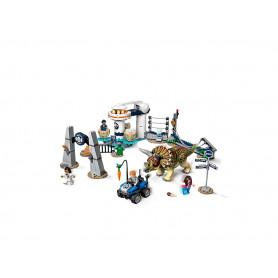 LEGO JURASSIC WORLD 75937 L ASSALTO DEL TRICERATOPO