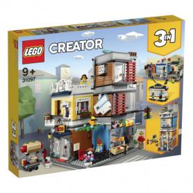 LEGO LEGO CREATOR 31097 NEGOZIO DEGLI ANIMALI   CAFE