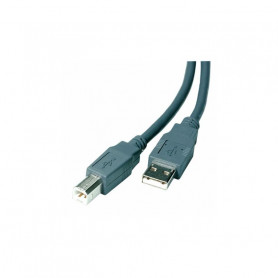 VIVANCO 25407 CAVO USB 2.0 A/B 1,5M GRIGIO