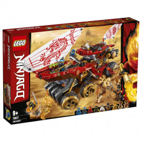 LEGO NINJAGO 70677 BOUNTY DI TERRA