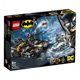 LEGO SUPER HEROES 76118 BATTAGLIA SUL BAT CICLO CON MR. FREEZE