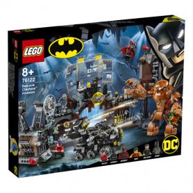 LEGO SUPER HEROES 76122 CLAYFACE E L INVASIONE DELLA BAT-CAVERNA