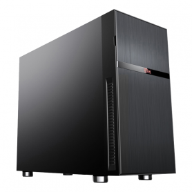 ITEK ITGCSY03 SYLENT MINI TOWER M-ATX, FONOASSORB, 2x5.25, NERO