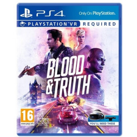 SONY BLOOD   TRUTH PS4