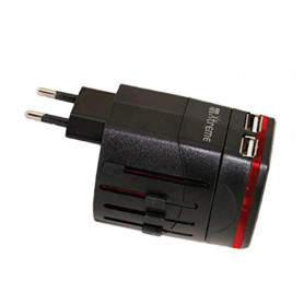 XTREME 50504 ADATTATORE VIAGGIO USB USA ASIA UK AUSTRALIA