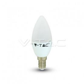 V-TAC 7197 LED Bulb - 3W E14 Candle 4000K