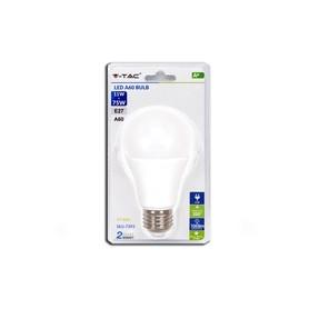 V-TAC 7393 Lampadina LED 11W A60 E27 3000K  Blister 1 pezzo