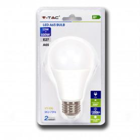 V-TAC 7396 Lampadina LED 15W A60 E27 3000K  Blister 1 pezzo