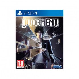 SEGA JUDGMENT PS4