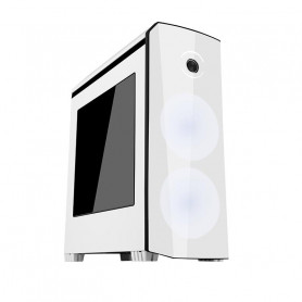 ITEK ITGCO50WB ORIGIN WHITE BLACK CASE GAMING MIDDLE TOWER ATX