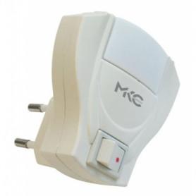 MKC 141500032  Diffusore notturno 2led 0,5w con interruttore luce bianca